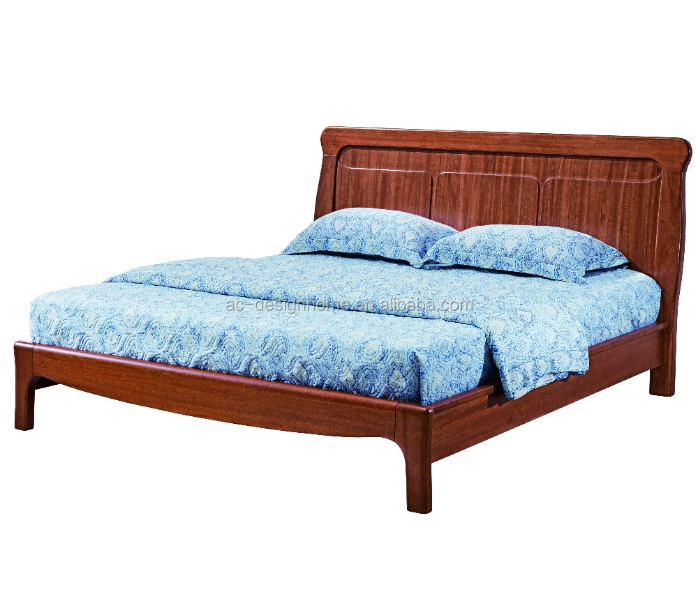 Wood Bed Design Furniture, Chinese Wooden Bed (C025-FH-C012-1)