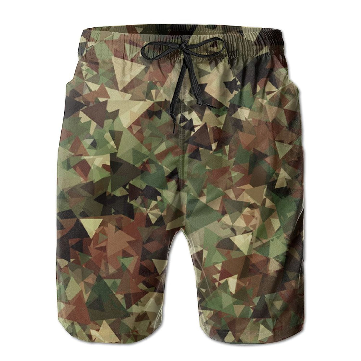 3bf519aa7747a Get Quotations · Camo Swim Trunks Summer Beach Board Shorts Quick Dry  Casual Shorts Boardshorts Swim Wear With Pockets