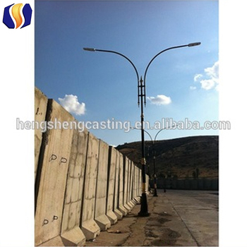 Cast Aluminum Outdoor Light Poles