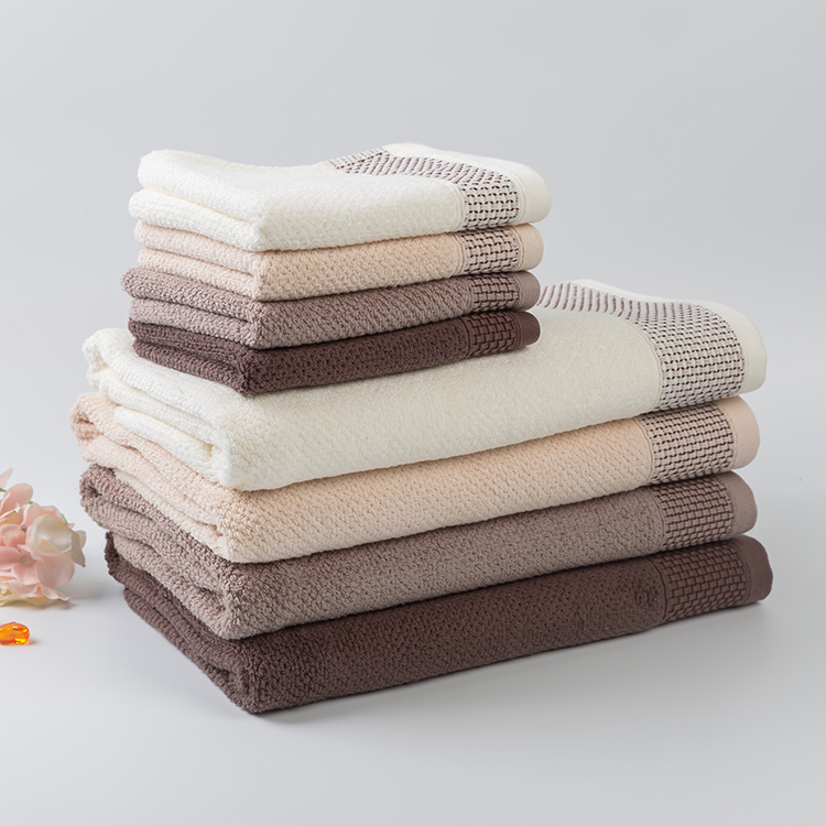 China supplier wholesale 100% cotton pure color luxury hotel bath towel