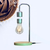New arrivals led products ideas innovative exhibition magnetic levitation lamp for amazon corporate gifts