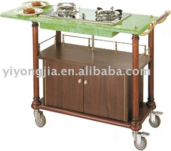Delightful Cooking Cart/hotel Mobile Cooking Carts/five Starts Hotel Dining Cart