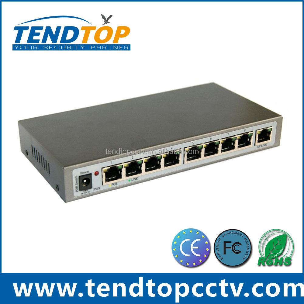 10/100Mbps 8 Port POE Enthernet switch for IP camera