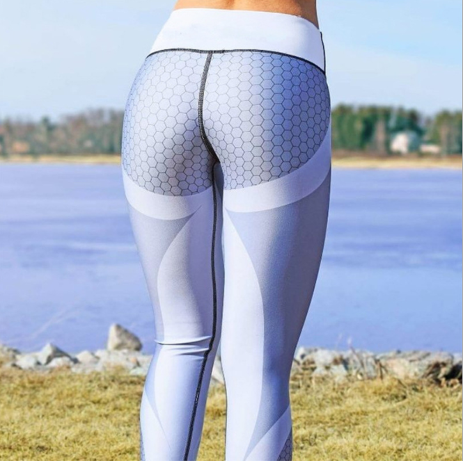 New 2018 Printed Active Pants Plus Size Yoga Leggings Jogging