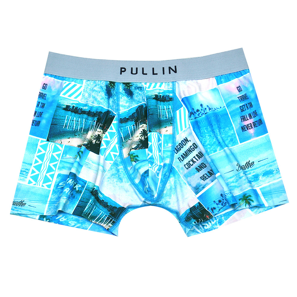 caeaad2d610 Get Quotations · New arrival Brand men s Pull In Trunks Underwear Men  flower print modal cotton S-XL