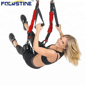 Professional Strength การฝึกอบรม Gym fitness Suspension Trainer สายคล้อง
