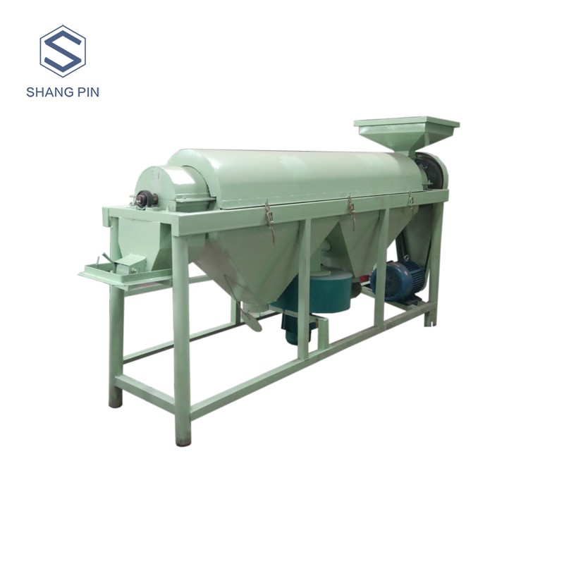 Electric carbon steel food polishing equipment