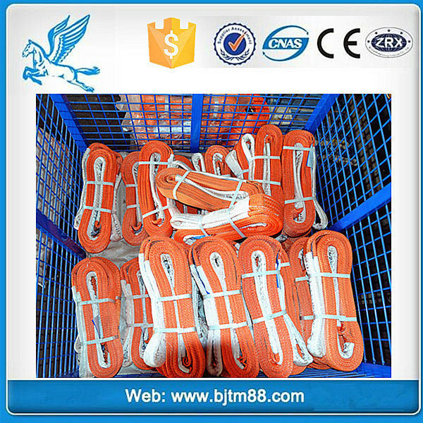 crane lifting belt endless round sling lifting tools with 3t*2M