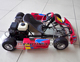cheap 90cc/110cc gas powered racing go kart with go kart parts