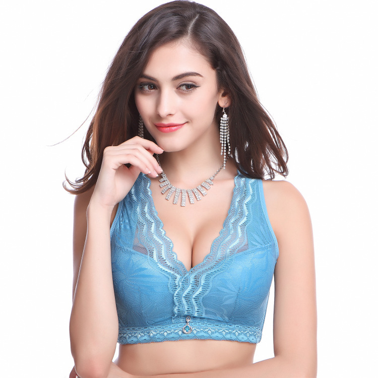 0dd4b05a4999a Buy 2015 New mini B cup womens small chest adjustable thick one piece Seamless  underwear gather together deep V Smooth half cup bra in Cheap Price on ...