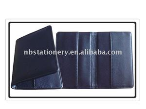 Simple leather wallet portfolio