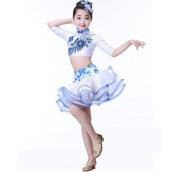 Children Girl Latin Dance Dress /Latin Dance Kids/New Style Latin Dance Costumes