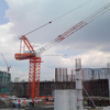 QTD series 6 to 16t max load 45 to 65m jib length self-erecting not used luffing tower crane