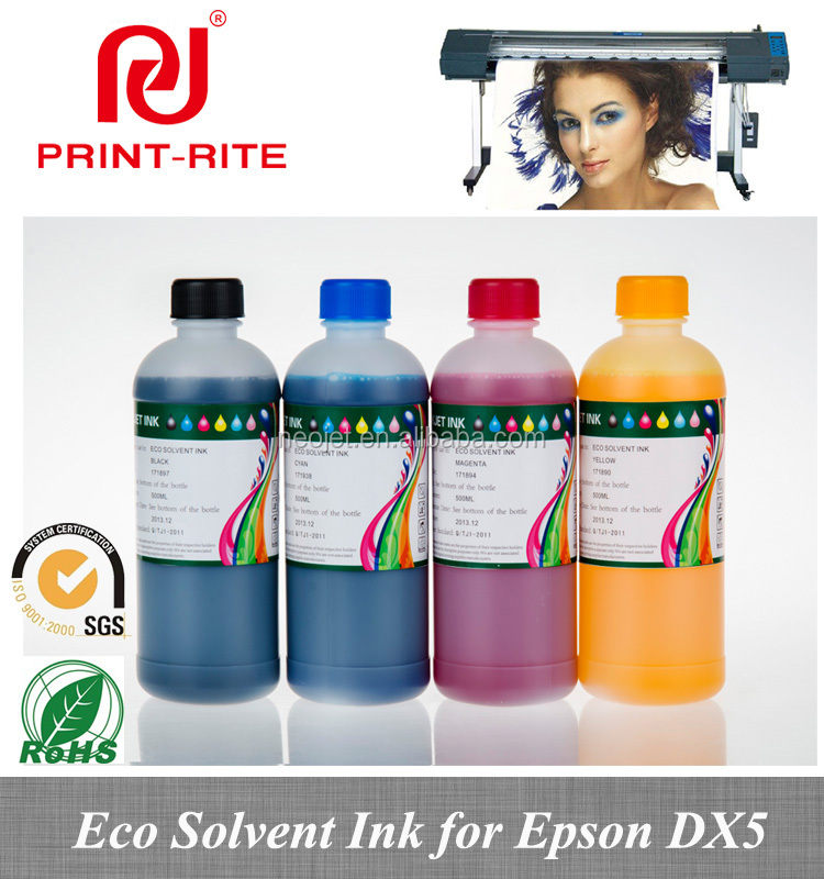 free sample wall printing eco dearomatized solvent ink for epson dx5 dx7 print head used machine