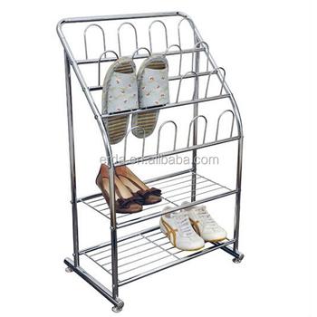 Metal Welding Cabinet Shoe Rack For Living Room - Buy Portable Shoe