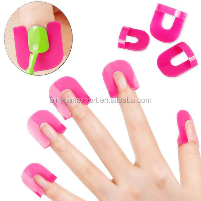 26pcs Nail Tools Plastic Nail Polish Helper/spill Proof Clip - Buy ...