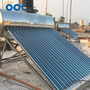 Portable 2017 High Quality Stainless Steel Water 200 Liter Non-Pressure Solar Heater