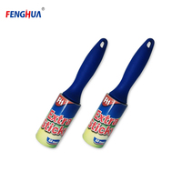 Washable sticky floor cleaning adhesive silicone lint Roller