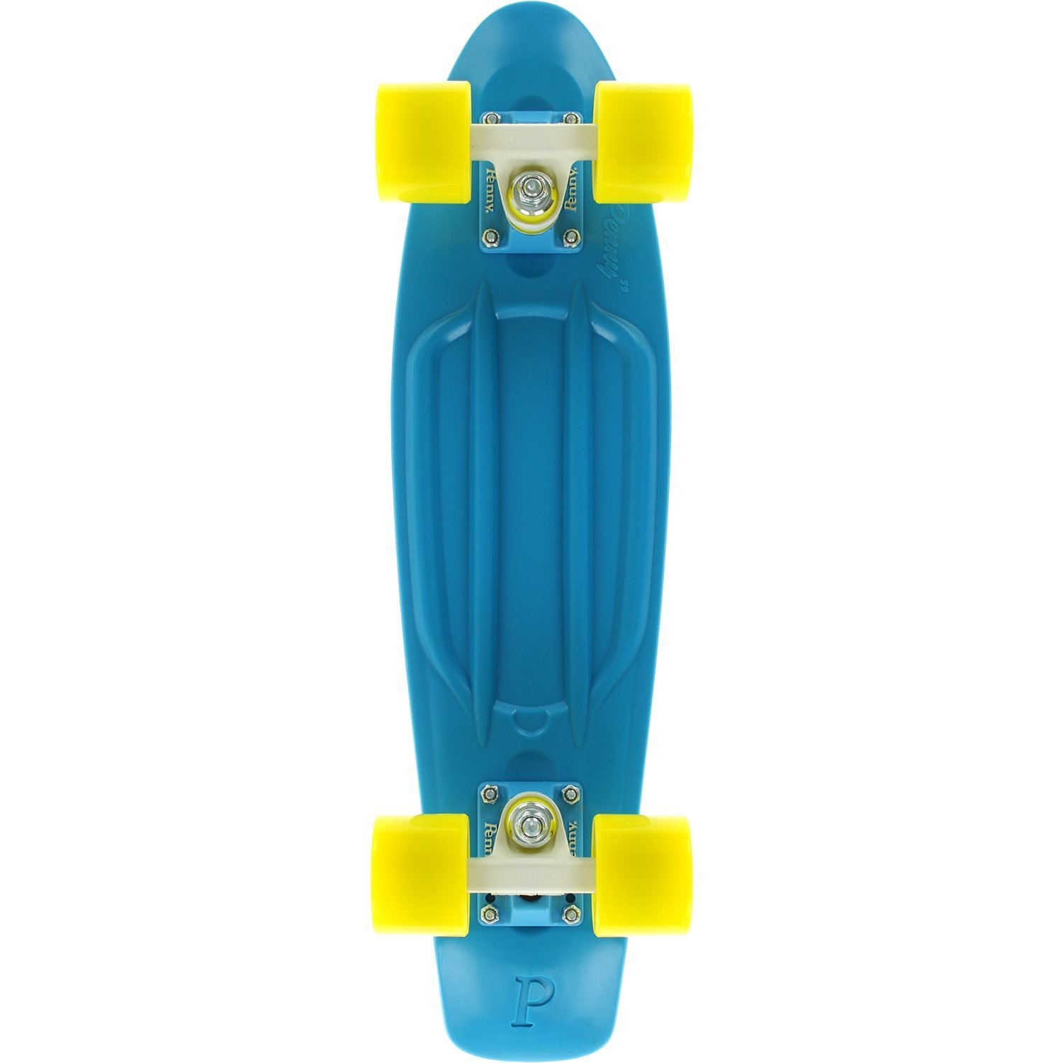"Penny 22"" Complete Skateboard Calypso Cyan/White/Yellow"