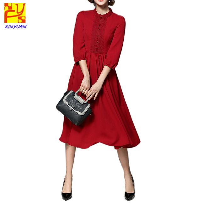 Fashion Lady Moslim Jurk Roze Open Voorzijde Borduren Vest Abaya