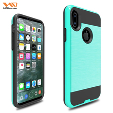 Blank cellphone case for iphone 8 pc+tpu phone cases covers for apple iphone 8