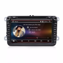 Doble 2 din 8 <span class=keywords><strong>pulgadas</strong></span> VW estéreo de coche Video CD reproductor de <span class=keywords><strong>DVD</strong></span> se sentó GPS Nav Radio
