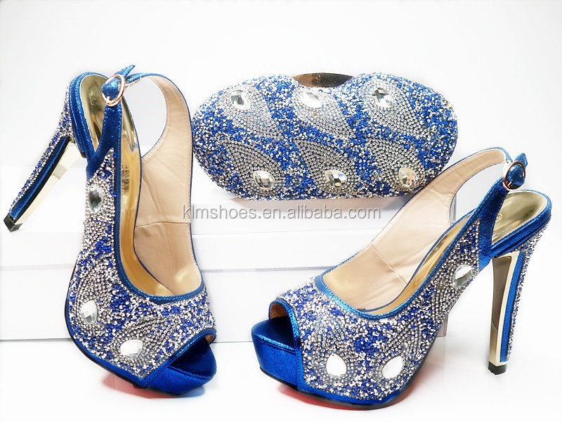 Fashion Lady 1 Handbag Sets Party Matching Bag And Class Shoes For Italian G20 High Sandal Sets African Design With SZgnUW7a