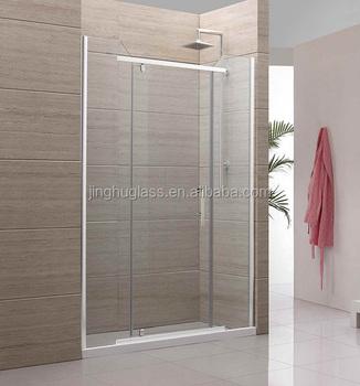 10mm Frameless Tempered Glass Shower Door For Bathroom