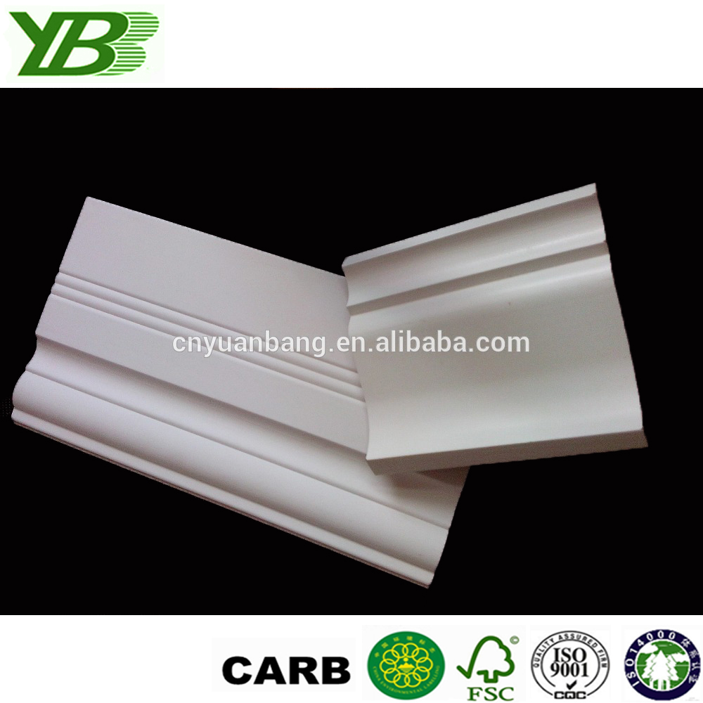 MDF moulding skirting crown molding