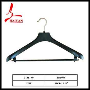 Wide Rounded Shoulders Outerwear Plastic Coat Hangers