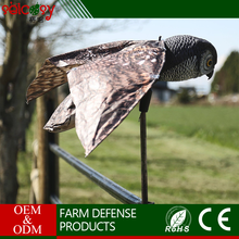 Eliminate caused by birds building nests in vents and chimneys owl bird repeller
