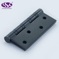 Stainless steel Black matt finish door hinges