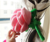 Girlfriend Valentine's Day Colorful Plush Rose Flower