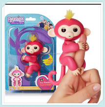 Factory Wholesale Best Christmas Party Gift Interactive Fingerling Baby Monkey, Cute Finger Monkey Toys