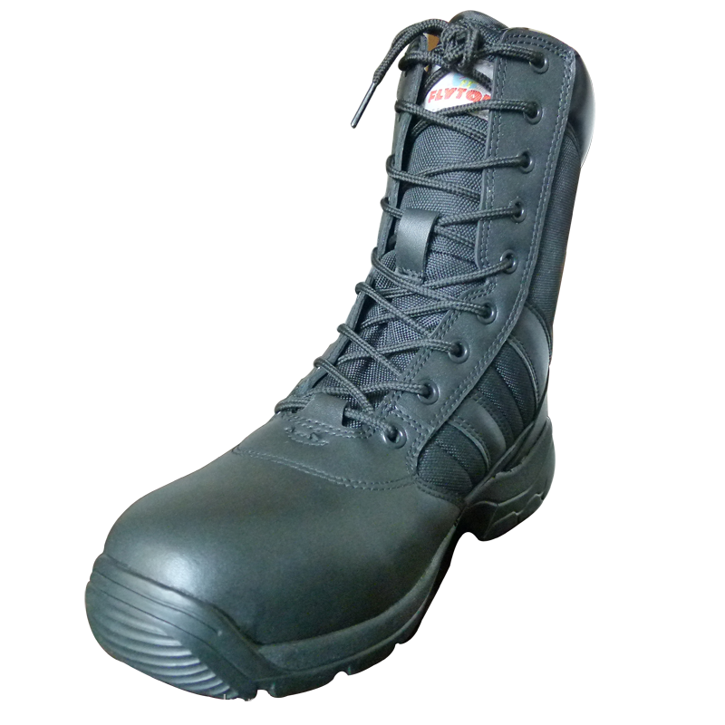 police shoes 2016 top quality boots italian winter military boots tactical snow shoes boots FT-2118M-B