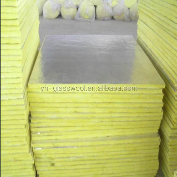 Aislamiento placa de lana de fibra de vidrio para aire - Aislamiento fibra de vidrio ...