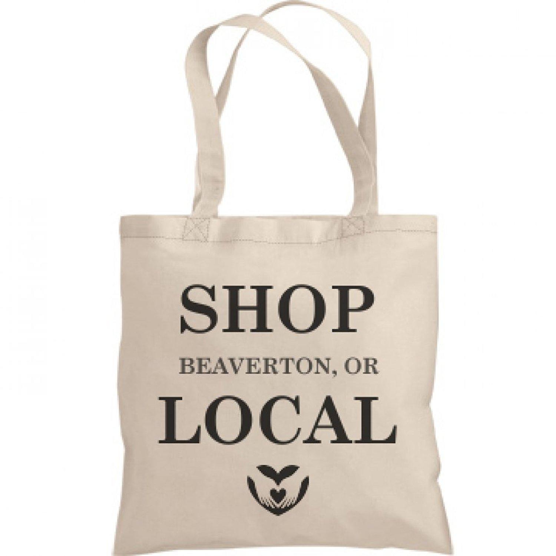 Shop Local Beaverton, OR: Liberty Bags Canvas Bargain Tote Bag