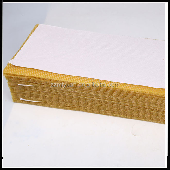 China Factory Langstroth Wholesale Brood Box/Super Box Pure Organic Beeswax Foundation Sheet