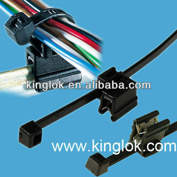 Edge Clip Tie Holder Cable Tie And Edge Clip Cable Clip Flat Plastic ...