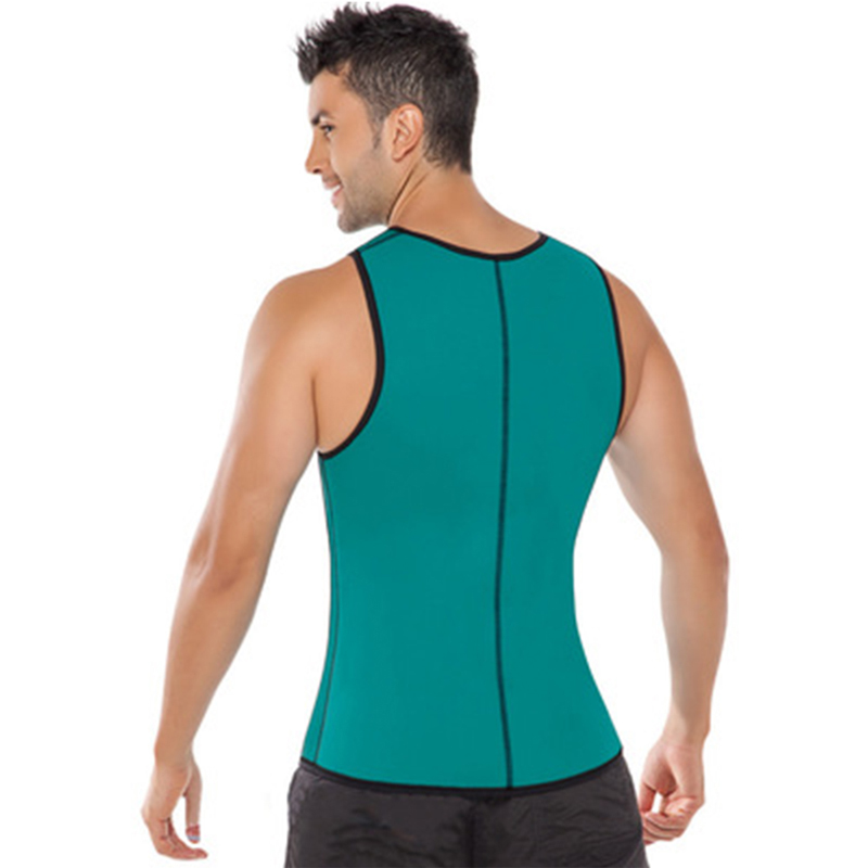 b9e1d80b1d Neoprene Slimming Vest Ultra Sweat Men Body Hot Shapers Waist Trainer Corset  Belly Abdomen Control Belt