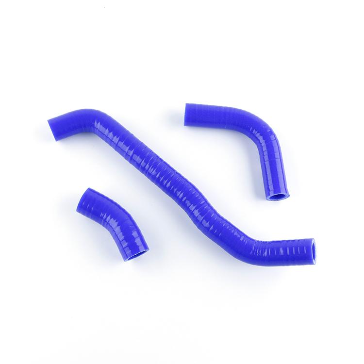 Blue Silicone Radiator Hose Kits For 2002-2012 SUZUKI DRZ400S DRZ400 DRZ400SM
