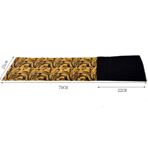 Yellow Fitted Wear Bandana Neck