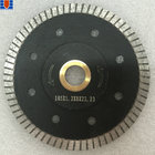 "4"" 105mm Sintered Turbo Diamond Saw Blade for Wet / Dry Cutting Tile Stone Cutting Tools"
