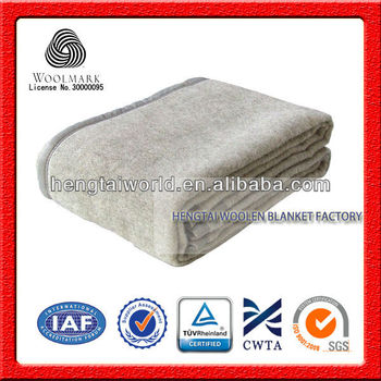 No.1 China Blanket Factory 100% Chinese Wool Blanket,Pure New Wool ...