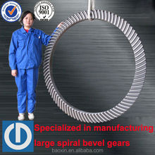 carburizing steel spiral bevel gear