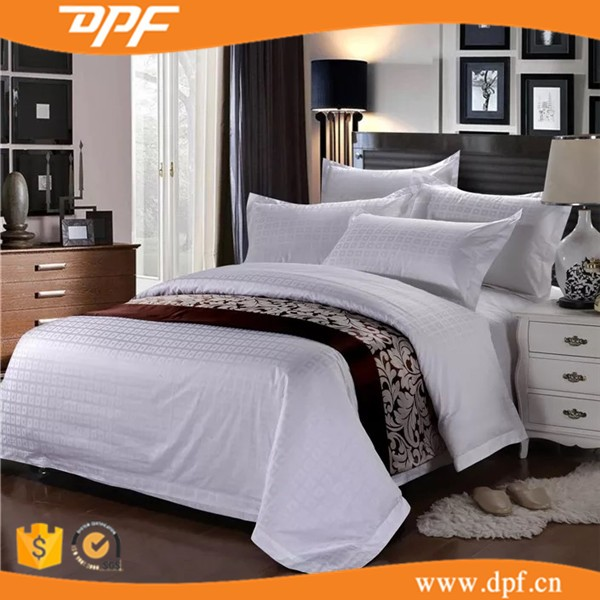 Wholesale Jacquard 3star Hotel Bed Linen, Duvet Cover Set,Bedding Set