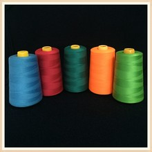 Wuhan Company 100% Polyester Yarn 40/2 5000yards/meters