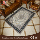 Ronde Persan Style Machine Made lavable Anti-slip Chenille Jacquard Tapis Pas Cher Tapis Chaise Tapis M-28