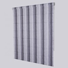 On sale light grey roman shades kitchen window blinds zip black out blind