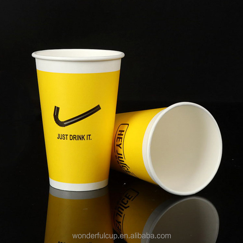 custom cold drink paper cup ,Disposable paper cup , Cheap paper cup